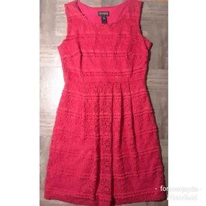 Enfocus Studio lace fit n flare dress